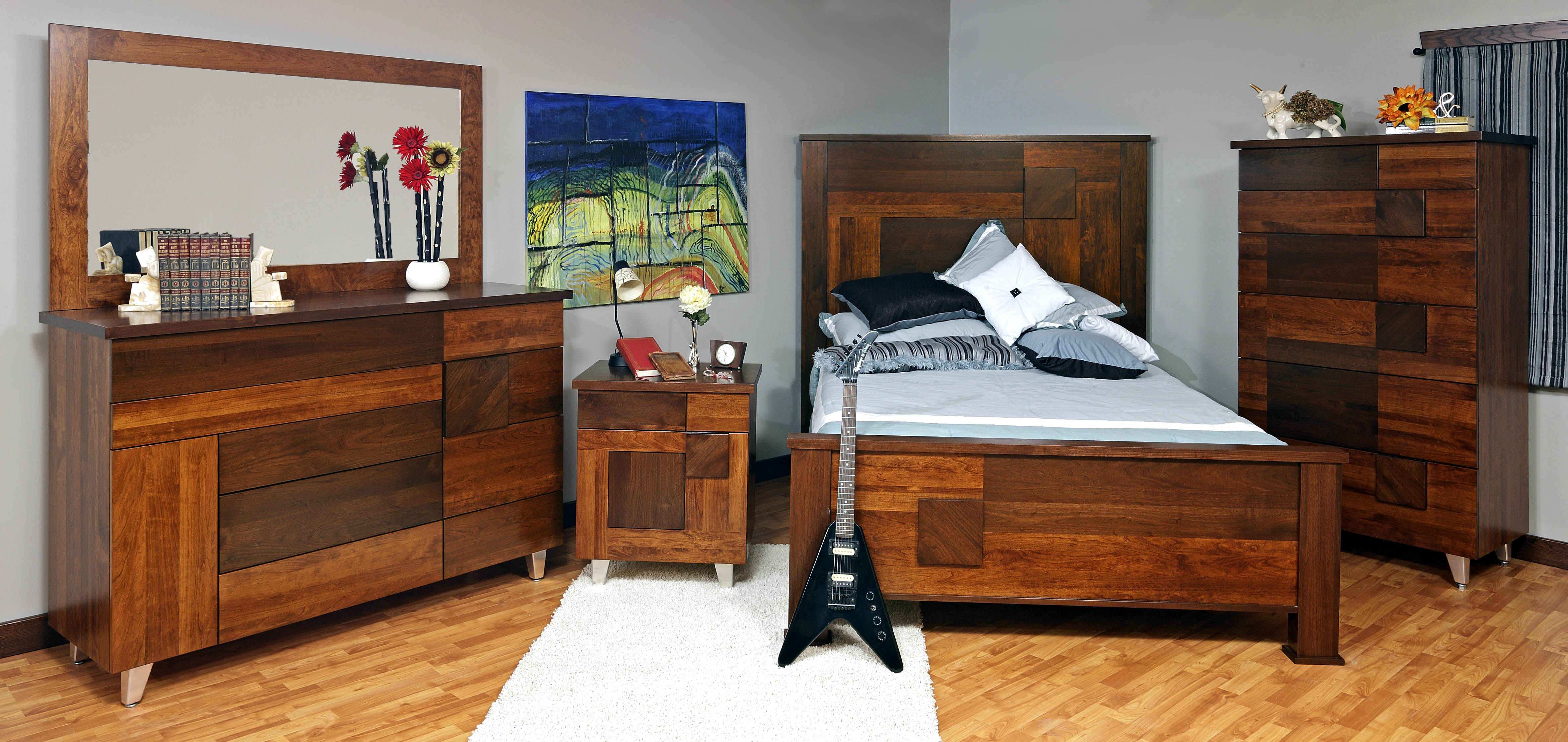 Arial Fields Bedroom Suite